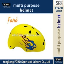 HE016K Yellow color 11 air cooling system kids head protection ce road bike helmet