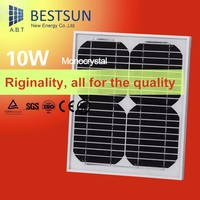 High Quality Pvt Hybrid Solar Panel mini solar panel for led light 10w monocrystalline solar panel