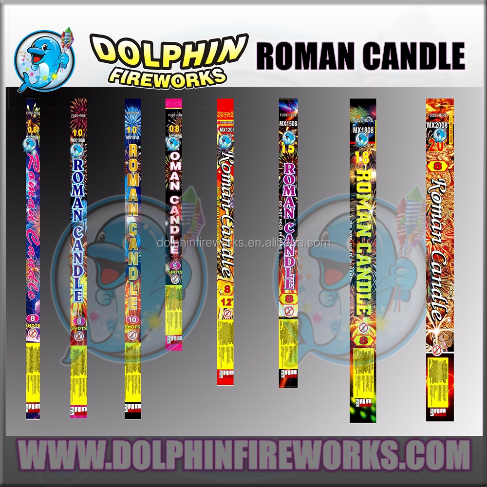 "wholesale in Libya market high quality 0.8"" 1"" 1.2"" 8shots Roman candle fireworks"