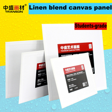 "CANVAS PANELS 18cmx24cm-7""x9.5"" SUPER VALUE PACK Artist Canvas Panel Boards for Painting Fine Texture 3mm Thick Acrylic Gesso"