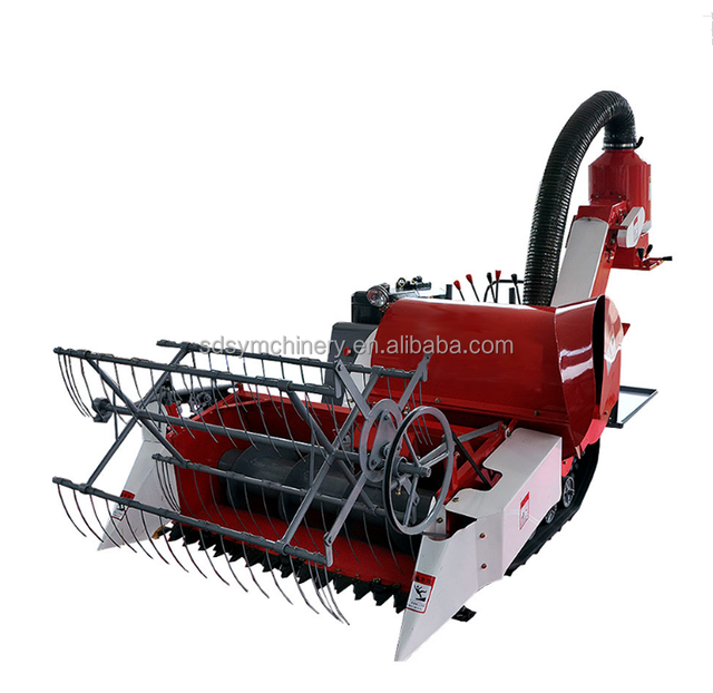 Agricultural Machinery Combine Harvester Mini Rice Reaper Price for Sale in Myanmar