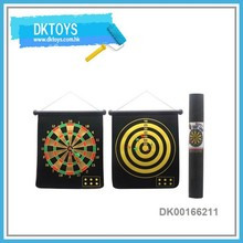 18 Inch Dart Board Toy Custom Magnetic Dartboard With 6 Darts