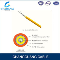 Low price single core OM3 fiber armouring optical cable for communication