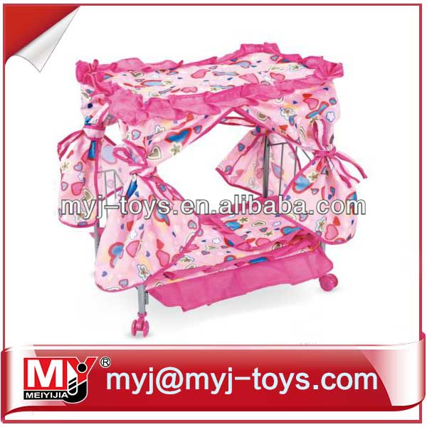 new item baby doll bed for kids MYJ-992