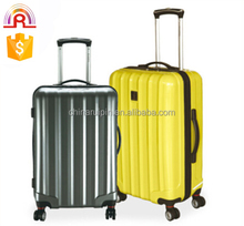 fashion style abs + pc trolley luggage