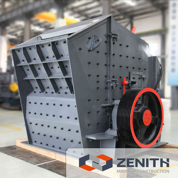 Crusher machine, impact crusher machine with large capacity