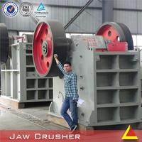 Heavy Equipment Jaw Crusher Station