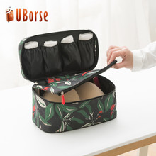 Portable underwear pouch bag packing cloth storage organizer travel bra bag