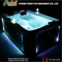 Luxury outdoor hot tub & used swim spa bathtub for 2 adults+1 child