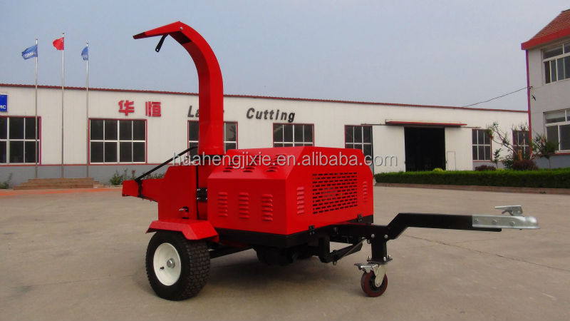 Hot selling big chipping capacity wood chipper/shredder