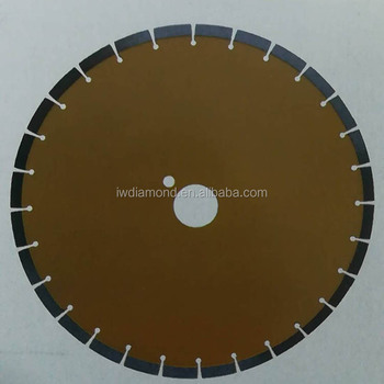 Laser welding diamond blade for granite
