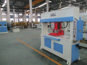 CE hydraulic traveling head shoe making machine