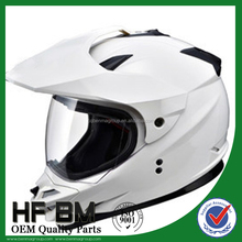 Motor Cross Helmet , Motorcycle Helmet with Head Lamp