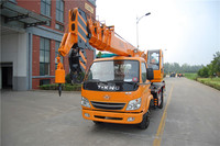 2014 new 8 ton small mobile crane YGQY8K with 26 meters 5 section boom