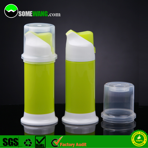 Hot sale!! New design 120ml Plastic airless toothpaste tube bottle, airless pump toothpaste bottle,plastic toothpaste container