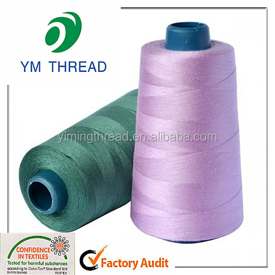 Manufacture Top Quality 40/2 Polyester Sewing Thread