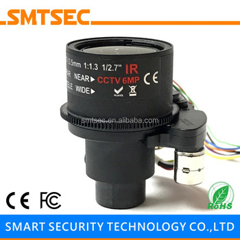 "1/2.7"" HD 4MP Megapixels 2.7-13.5mm Motorized Zoom Auto Focus M14 Mount CCTV Lens For IP Security Camera (SL-27135MFZ 4MP)"