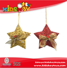 2016 new design christmas star plastic christmas star christmas tree decoration