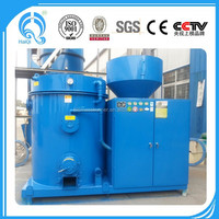 ISO CE biomass burner connect with gas fired aluminum melting furnace, aluminum induction melting furnace