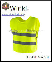 hi vis reflective vest children reflective safety clothing