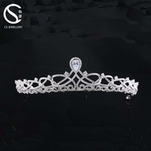 Hot selling fashion wedding jewelry tiaras and crowns wedding bridal headpiece