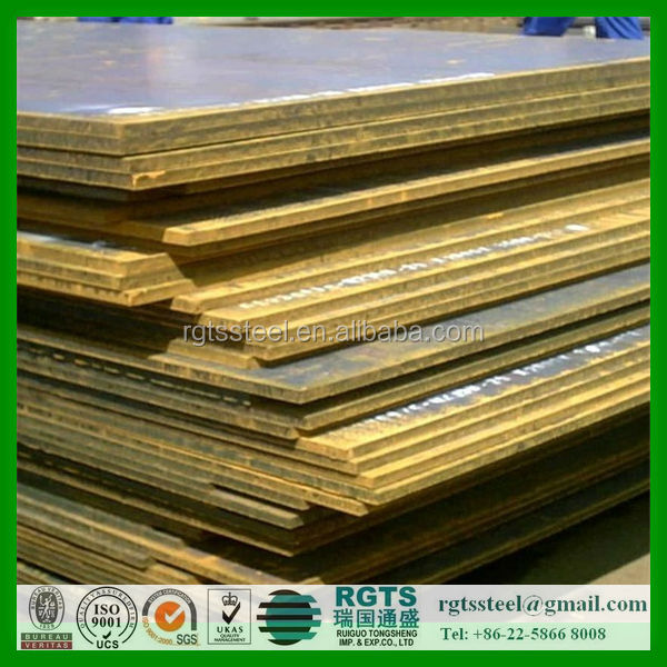Prime quality of S235J0 steel plate for construction