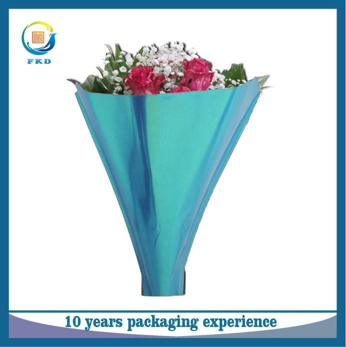 China Supplier Shrink Wrap Foral Packaging Poly Sheeting