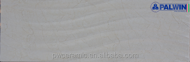 white luxury ceramic 3d wave wall tile 300x900mm