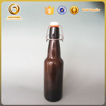 330ml colored glass swing top beer bottles
