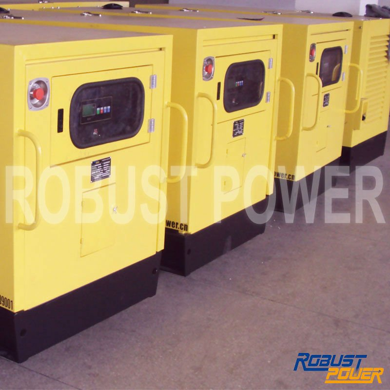Factory Price Mobile Silent Diesel Genset