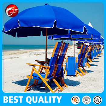 China strong beach umbrella garden umbrella