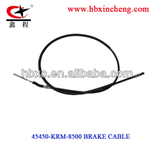 motorcycle brake cable CG125 TITAN for South America, motorcycle spare parts, motorcycle control cable