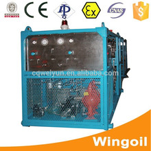 Skid Mounted Wateer Drilling Mud Pressure Test Equipment for Well Logging Operation