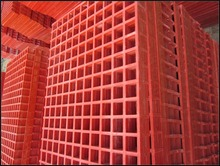 High strength GRP fiberglass FRP mould FRP grating