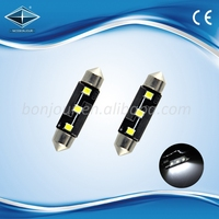 Hot sale 2835 3smd canbus 31 36 39 41 44mm festoon auto led light match all cars