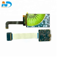 5.5 inch 2K lcd controller pcb board mipi dsi to HDMI interface lcd display