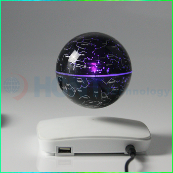 3 Inch Levitating Colorful Starlight Dragon Ball with USB Charger