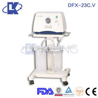 wear resistant double suction pump hospital equipment sputum aspirators medical fda