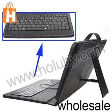 Universal 8 Inch Tablet PC Case with Keyboard with USB Cable