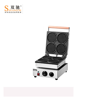 China Supplier Electric Square Single Plate Waffle Maker cake machine stainless steel waffle making machine For Wholesale