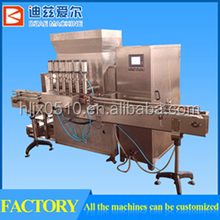 production machines for glass bottle washing filling and capping
