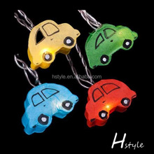 Car Shape Paper Hanging String Lights For Indoor Decoration HNL136