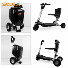 China Manufacturer 3 Wheel Light Weight Foldable Electric Scooter