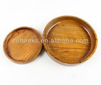 wood plate (small size plates are available
