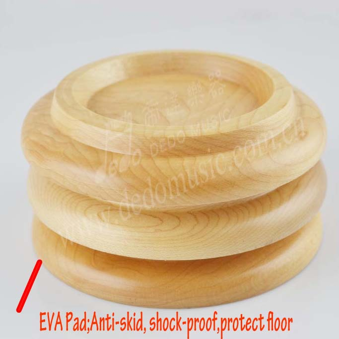 Elegant Wood Grand Piano Caster Protector Piano Caster Cups Piano Accessories
