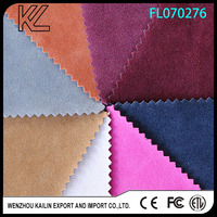 Supplier Colorful Double Side Pu Flock