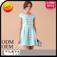 New product Promotion sexy girls dress summer Light Blue dress