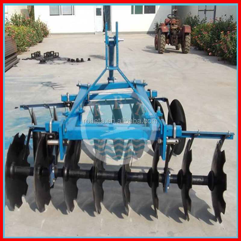 Farm uses of double agricultural disc plough in india