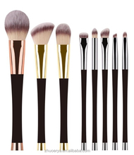factory professional mineral make up brushes vegan cosmetic brushes