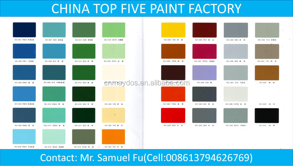 China Top Five Paint Manufacturer- Self Leveling Epoxy Floor Paint, Epoxy Resin Paint